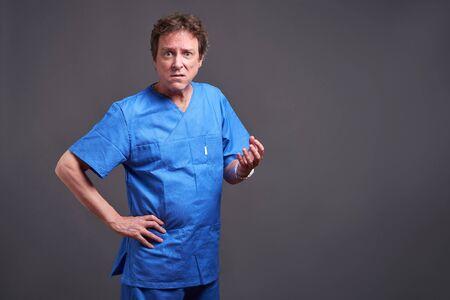 A male doctor Reklamní fotografie