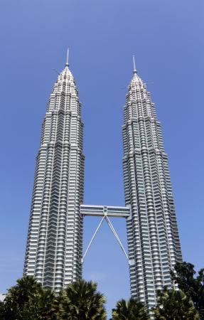 KLCC twin towers in Kuala Lumpur, Malaysia