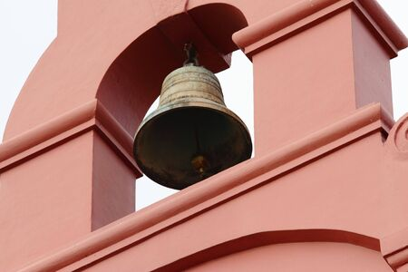 christ church: The bell of the Christ Church in Melaka, Malaysia