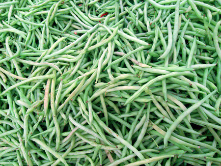 long beans: Close up of long beans Stock Photo