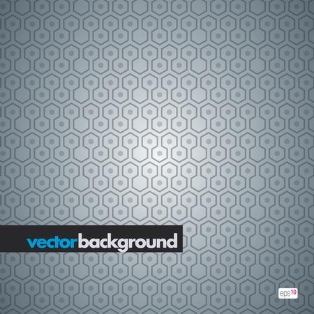 seamless hexagon pattern Stock Vector - 10938033