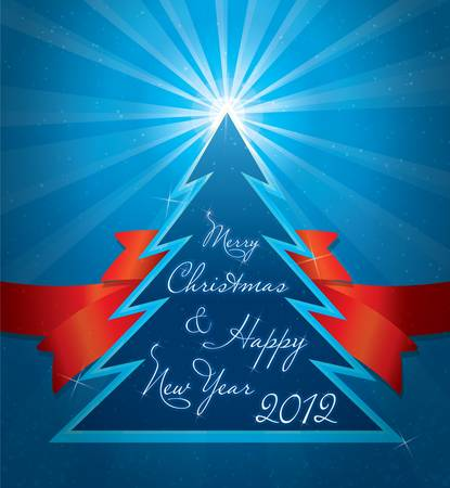 christmas greeting card Stock Vector - 10938025