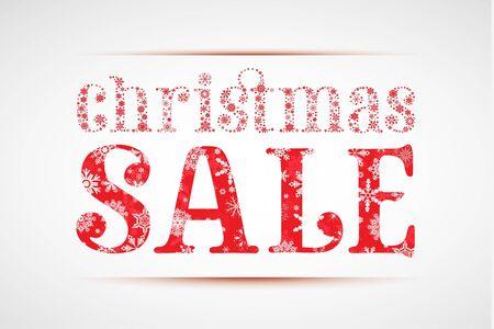 christmas sale Stock Vector - 11102427