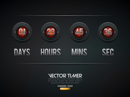 time table: Countdown timer