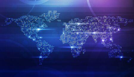 World map Stock Vector - 13568242