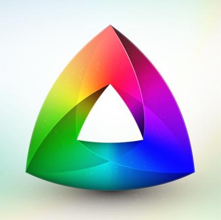 chromatique: Roue des couleurs Gem Illustration
