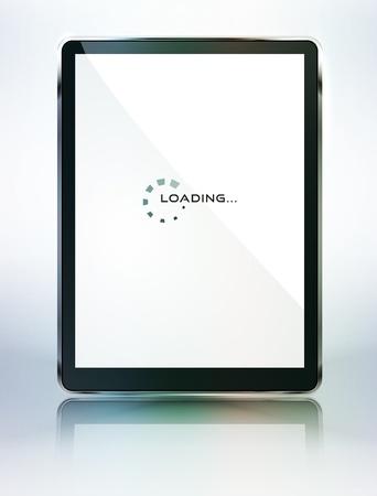 tablet computer Stock Vector - 13709556