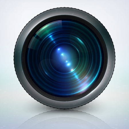 Camera lens Stock Vector - 13776430