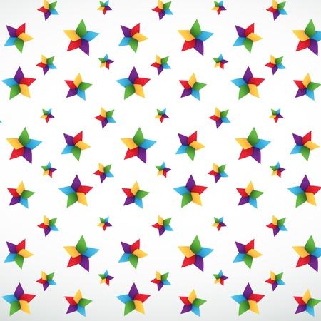 Star seamless pattern Stock Vector - 13797534