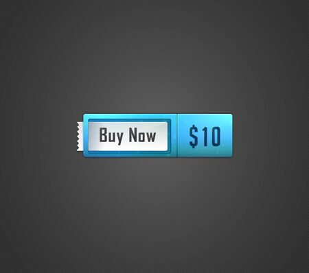 Buy now web button  Vector illustration