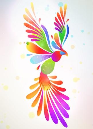 digital print: Modern abstract background illustration