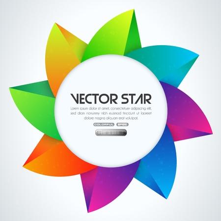 Vector star. EPS 10 illustrator format Stock Vector - 16732006