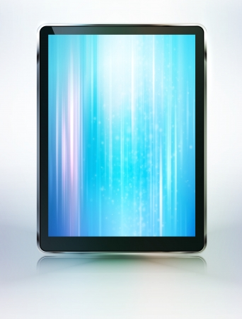 tablet computer abstract backroung