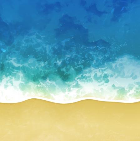 sea beach background Illustration