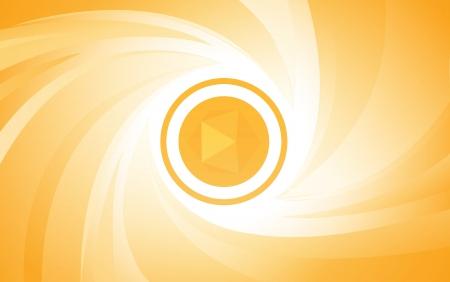orange abstract background