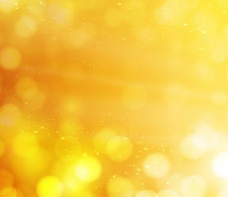 orange bokeh lights  abstract background
