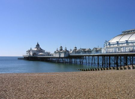 A general view of Eastbourne Pier pictured in the city of Eastbourne, in the UK.