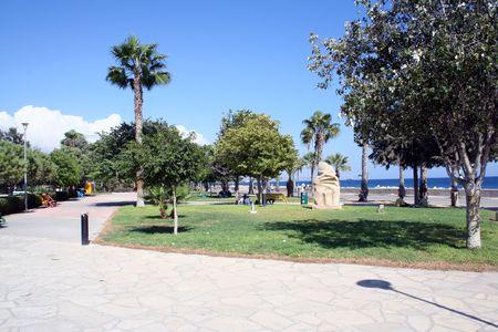 feigenbaum: Eine allgemeine �bersicht der Feigenbaum Strand in das Resort von Ayia Napa der Insel Zypern.