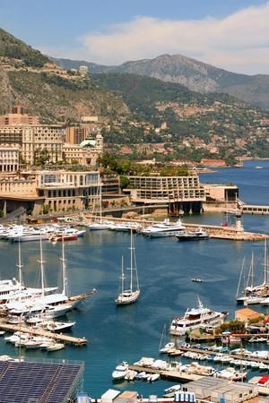 kojen: Die in den Hafen des F�rstentums Monaco, S�dfrankreich