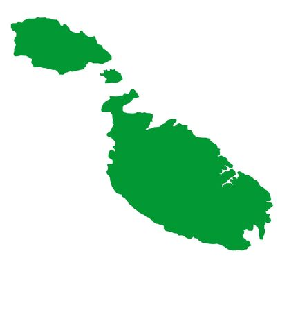maltese map: Map of Malta