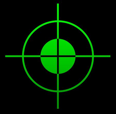 pistolas: Vista de ca��n telesc�pica iluminado por la noche.