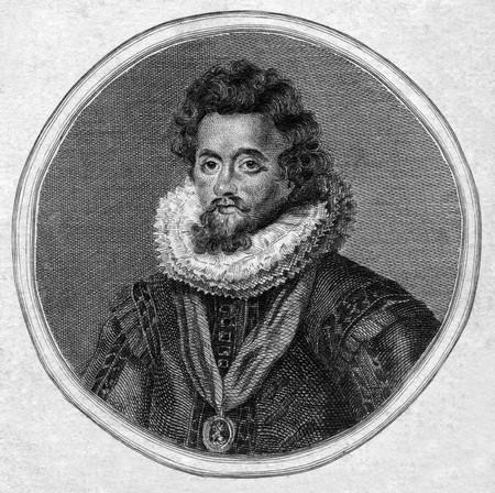 engraver: Incisione di Giacomo I d'Inghilterra o di re Giacomo VI di Scotand. 1800. Pulic Immagine di dominio in virt� di et� - ritratto incisore britannico Charles Townley 1746 da.