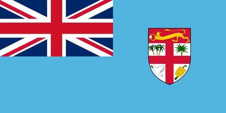 national identity: Bandiera di stato sovrano del paese delle Figi in colori ufficiali. Azerbaigian; asia; bandiera; sovrano; stato; cittadino; cittadinanza; identit�; banner; simbolo; paese; viaggio; firmare; grafica; elemento; icona; illustrato; orizzontale; paesaggio; commercio, illustrazione