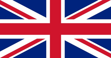 english flag: Illustration of British Union Jack national country flag.
