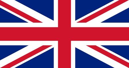 ireland flag: Illustration of British Union Jack national country flag.