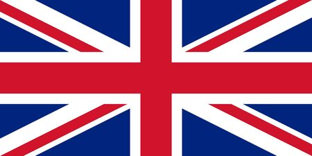 sovereign: Sovereign state flag of country of United Kingdom in official colors.