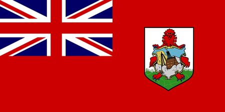 sovereign: Sovereign state flag of dependent country of Bermuda in official colors.