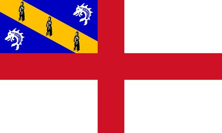 sovereign: Sovereign state flag of dependent country of Herm in official colors.