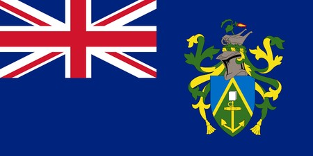 pitcairn: Sovereign state flag of dependent country of Pitcairn Islands in official colors.