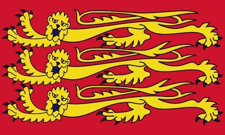 royal: Royal English standard, isolated on white background.