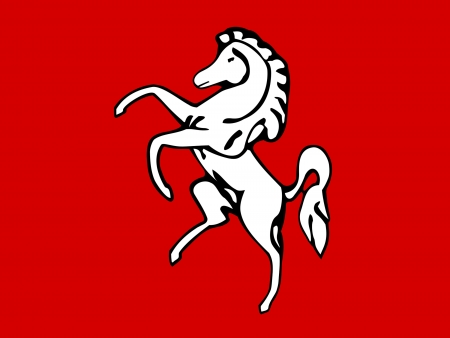kent: Official flag of Kent county in England