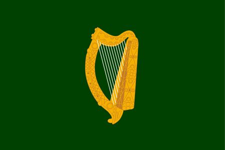 leinster: Official province of Leinster flag in Ireland