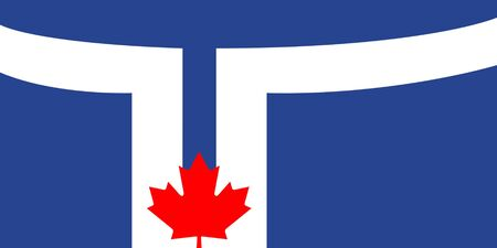 toronto: Toronto city flag is official colors, Canada.