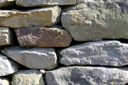 dry stone: Abstract background of dry stone wall in countryside.