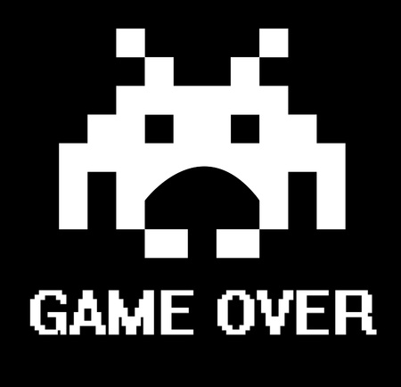 invader: Gave over business concept with space invader.