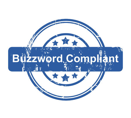 compliant: Buzzword Compliant business concept stamp with stars isolated on a white background.
