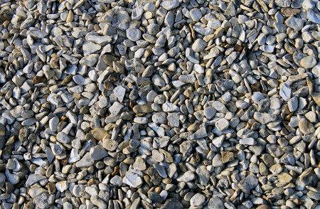 shingle: Abstract pebble or shingle background. Stock Photo
