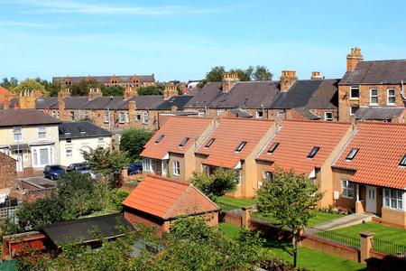 Moderne woning in Scarborough, Engeland.