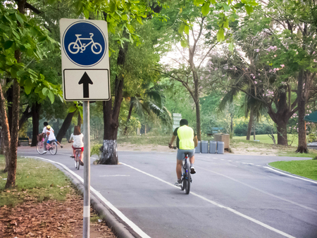 exert: A place for exercise, cycling, trotting, which is in Thailand such a place called