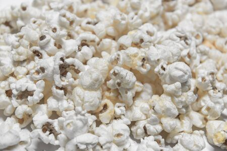 insipid: Insipid color popcorn sweet favour