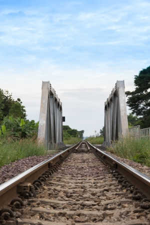 It is the old railway line east of Thailand . photo