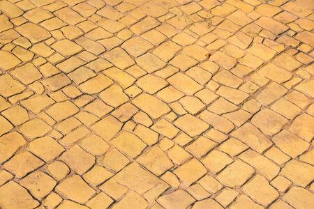 marble flooring: Pavimenti in marmo fondo giallo Archivio Fotografico