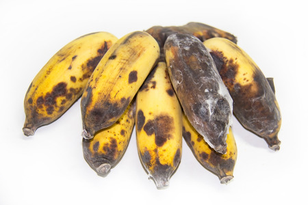 cultivated: waste cultivated banana from Thailand . Stock Photo
