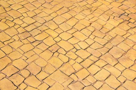 marble flooring: Pavimenti in marmo fondo giallo. Archivio Fotografico