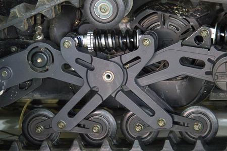 regiment: Close up detail wheel tank