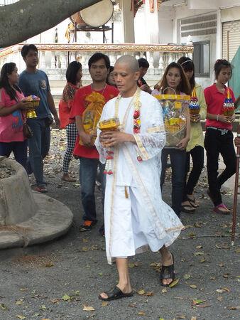 relative: Saraburi - June 7 : Relative of my brother in ordination on June 7,2013 in Saraburi Thailand